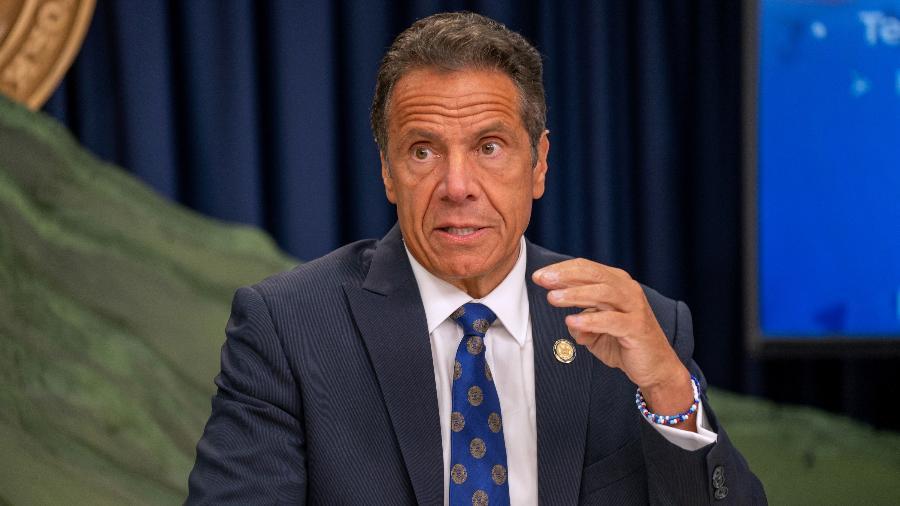 O governador de Nova York, Andrew Cuomo, é acusado de assédio; ele nega - David Dee Delgado/Getty Images/AFP