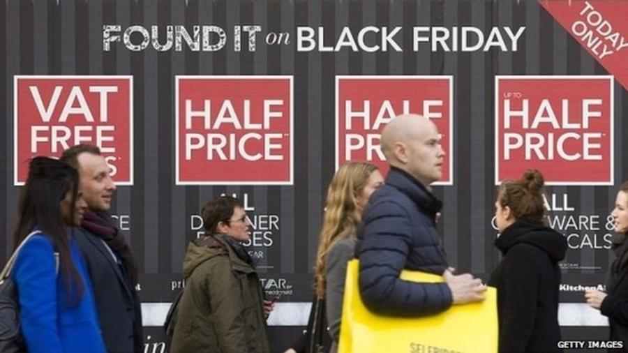 Consolidação - e exportação - da Black Friday se deu neste milênio - Getty Images