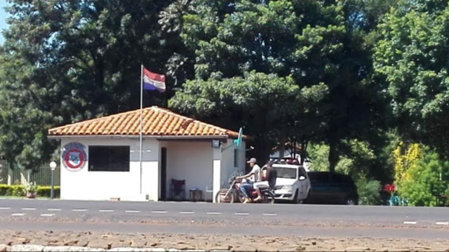 Agentes em Colonia Tórin (Paraguai) pediam R$ 50 mil de casal que voltava para São Paulo - Google Street View/Reprodução