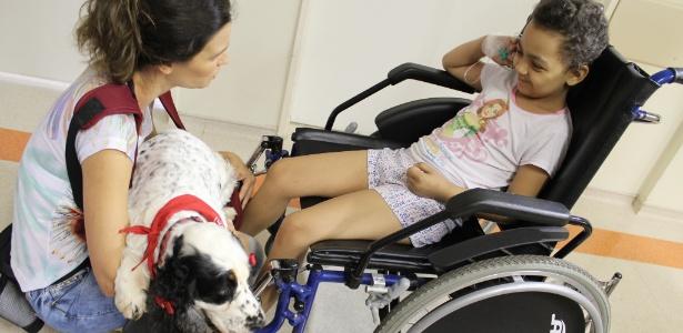 Resultado de imagem para Projeto de lei pode liberar a entrada de animais de estimação em hospitais de São Paulo.