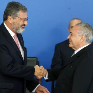 Ministro da Transparência, Fiscalização e Controle, Torquato Jardim, toma posse