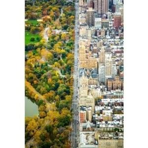 1º.jul.2016 - A foto de Kathleen Dolmatch do Central Park, em Nova York, foi feita de um helicóptero e também recebeu menção honrosa na categoria Cidades