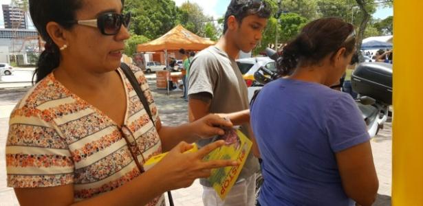 Faculdade sorteia tablet e celular para candidatos do Enem em Maceió - Beto Macário/UOL