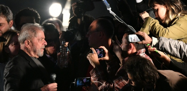 Em discurso na avenida Paulista, Lula criticou o governo Michel Temer (PMDB)