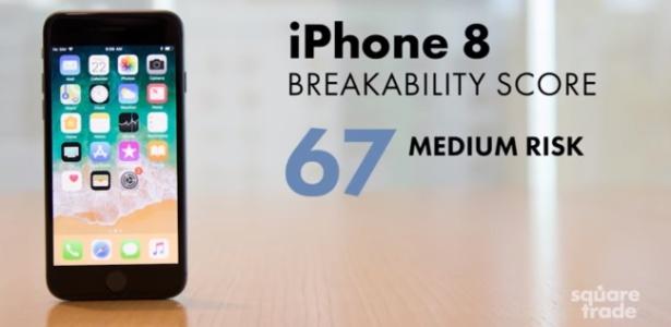7fb96763625 Durão ou frágil? Veja como o iPhone 8 se sai num teste de ...