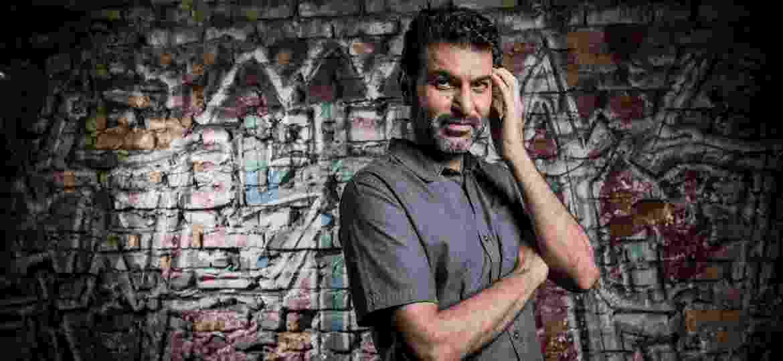 Hasan Zarif, dono do restaurante e centro cultural Al Janiah - Keiny Andrade/UOL
