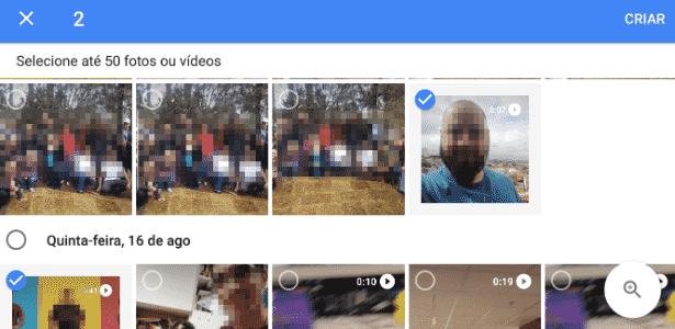 Edição de vídeo Google Fotos - parte 3 - Reprodução - Reprodução