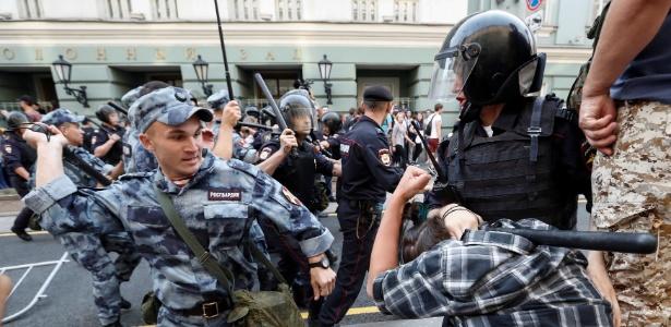 Manifestações foram convocadas por grupo opositor ao presidente Vladimir Putin