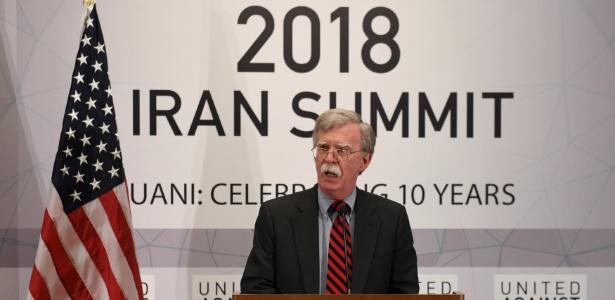O conselheiro de Segurança Nacional dos Estados Unidos, John Bolton - Darren Ornit/Reuters