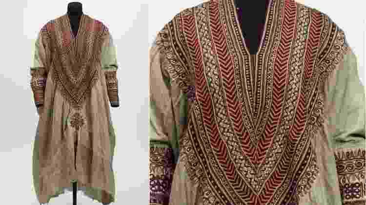 Feito em 1860, esse traje de casamento teria pertencido à rainha Woyzaro Terunesh - Victoria and Albert