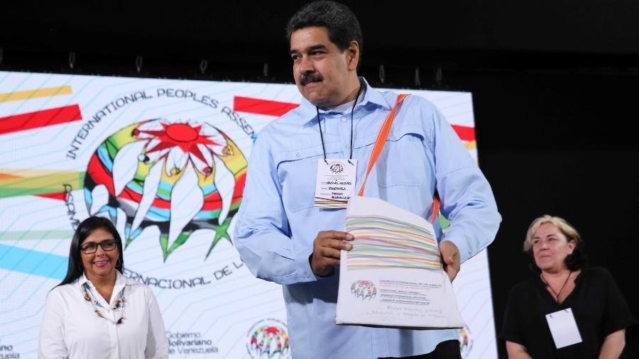 Nicolas Maduro ainda conta com o apoio das Forças Armadas - Miraflores Palace/Reuters