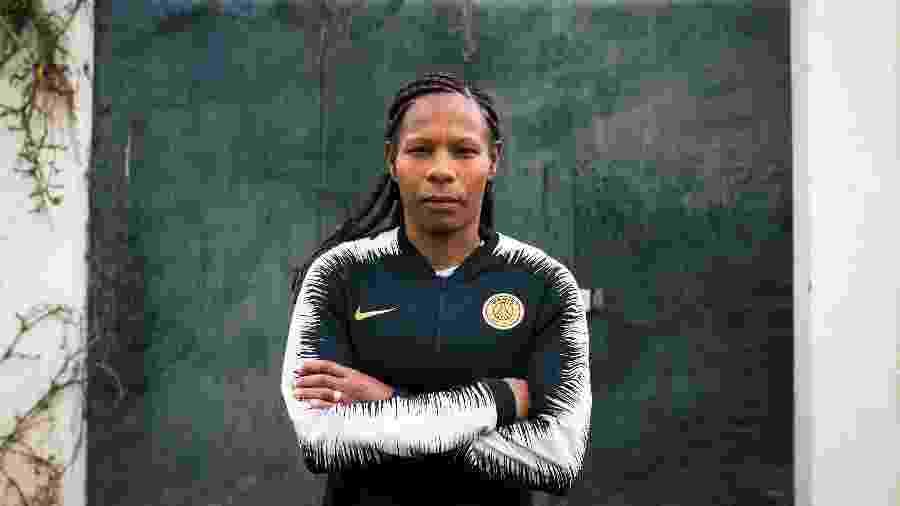 A volante Formiga, da seleção brasileira feminina de futebol e do Paris Saint Germain - Pete Kiehart/The New York Times