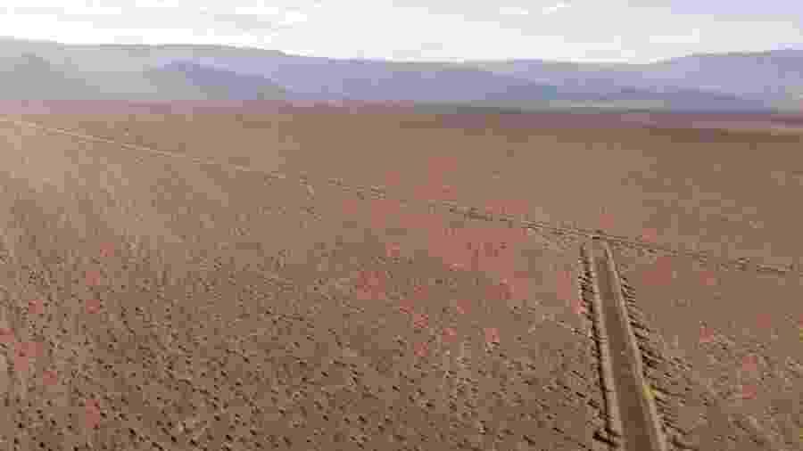 Área 51 fica no deserto do Estado norte-americano de Nevada - Getty