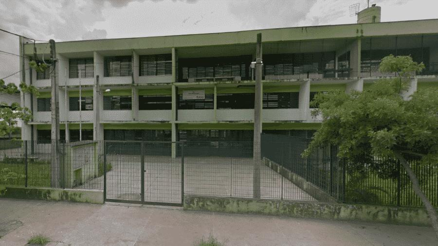 Escola Municipal de Ensino Fundamental (EMEF) Dama Entre Rios Verdes, no Itaim Paulista, zona leste de São Paulo - Reprodução/Google Maps