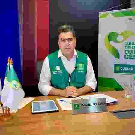 Emanuel Pinheiro (MDB), prefeito de Cuiabá - Divulgação - Divulgação