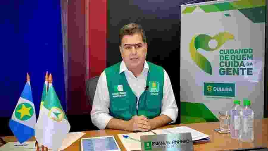 Emanuel Pinheiro (MDB), prefeito de Cuiabá - Divulgação