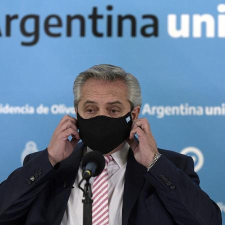 Presidente da Argentina, Alberto Fernández - POOL/Reuters