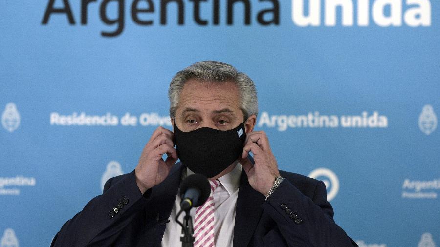 O presidente da Argentina, Alberto Fernández, tenta liderar o debate ambiental na América do Sul - POOL
