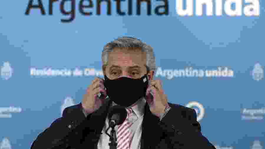 Presidente da Argentina, Alberto Fernández - POOL
