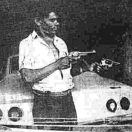 Francisco Vital da Silva, o Chico Pé de Pato - Reprodução/Jornal Notícias Populares