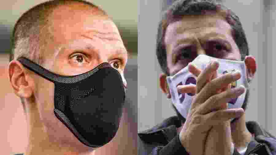 Bruno Covas (PSDB) e Guilherme Boulos (PSOL), adversários no segundo turno das eleições em São Paulo - Antônio Molina/Zimel Press/Estadão Conteúdo e Alice Vergueiro/Estadão Conteúdo