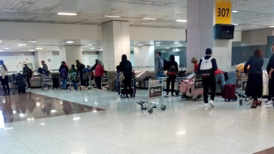 Haverá monitoramento dos passageiros, informou agência - Divulgação/Anvisa