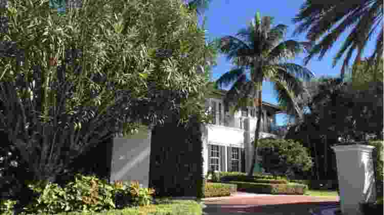 Casarões de Palm Beach têm paisagismo exuberante - BBC MUNDO - BBC MUNDO