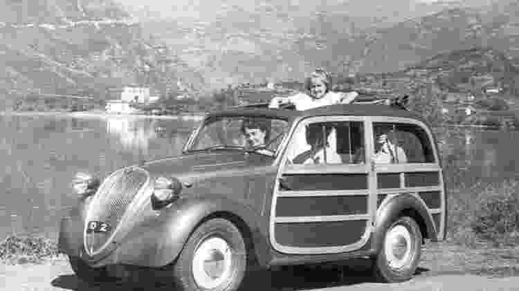 Fiat Topolino Giardiniera - Divulgação  - Divulgação
