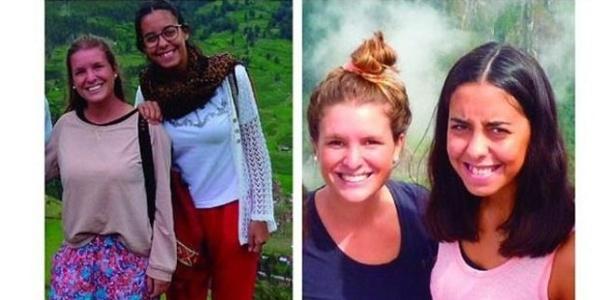 As argentinas Maria José Coni, 22, e Marina Menegazzo, 21, foram assassinadas enquanto viajavam pelo Equador