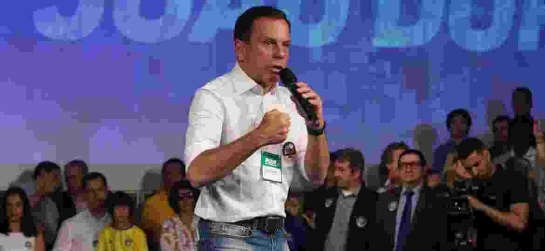 João Doria Júnior durante sua campanha política pela prefeitura de São Paulo - Alex Silva/Estadão Conteúdo