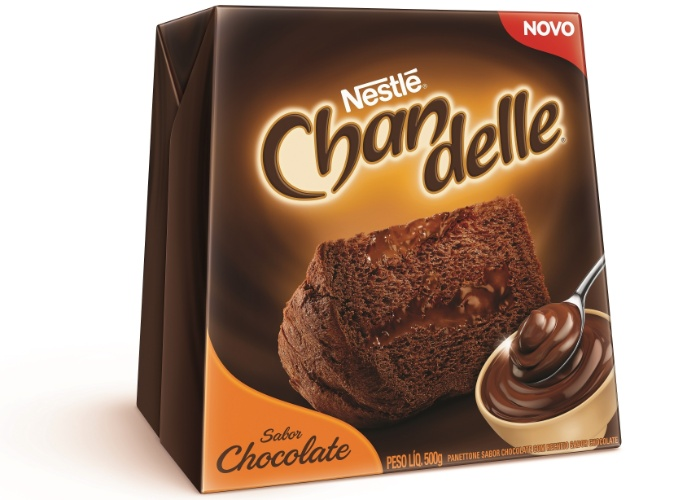 Panetone Nestlé 500g Chandelle R$ 23,99