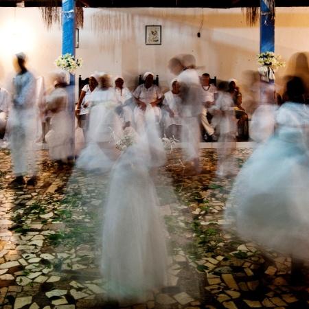 Ritual de candomblé - Eduardo Knapp/Folhapress