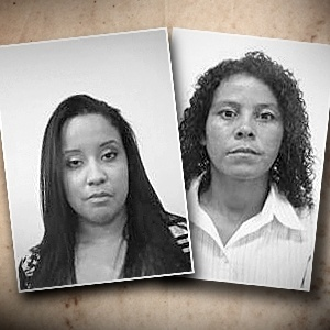 Fotos de urna das candidatas Danny e Diana - Arte/UOL