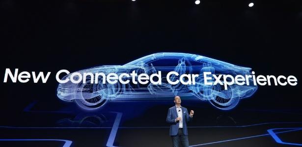 db4157a1a2d Samsung projeta futuro diferente na relação humana com carros Imagem   Mandel Ngan AFP