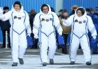Astronauta japonês cresce 9 cm em três semanas na Estação Espacial - e está preocupado (Foto: Kirill Kudryavtsev/Reuters)