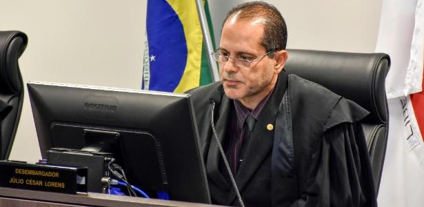 O relator do recurso da defesa do ex-governador Eduardo Azeredo na 5ª Câmara Criminal do TJMG (Tribunal de Justiça de Minas Gerais), Júlio César Lorens - Robert Leal/TJMG