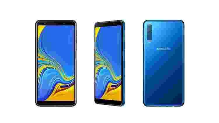 Samsung Galaxy A7 (2018) - Divulgação - Divulgação