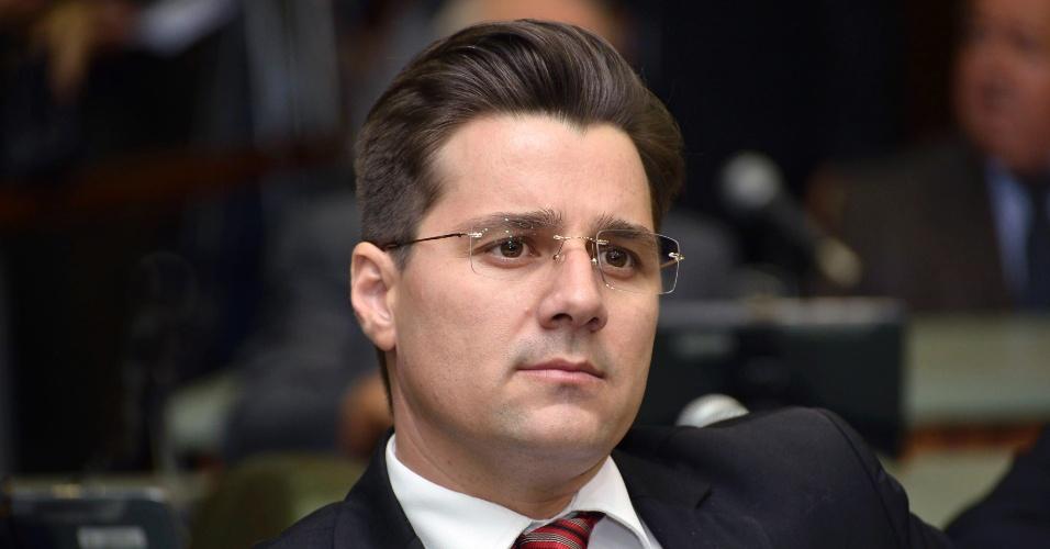 10.out.2018 - O candidato a deputado estadual Henrique César (PSC), 39 anos, foi o mais votado em Goiás, com 46.545 votos