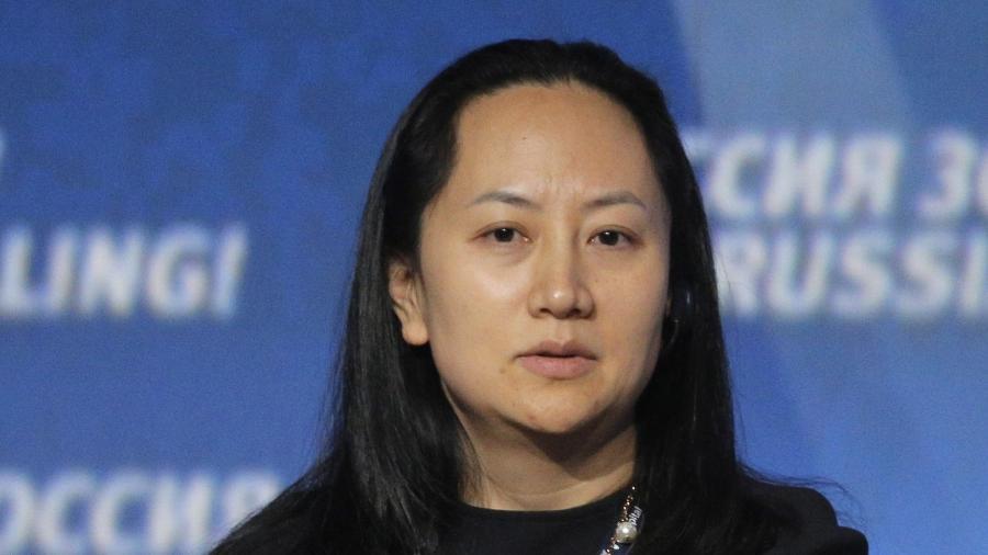 Meng Wanzhou foi presa durante uma conexão em Vancouver - EPA