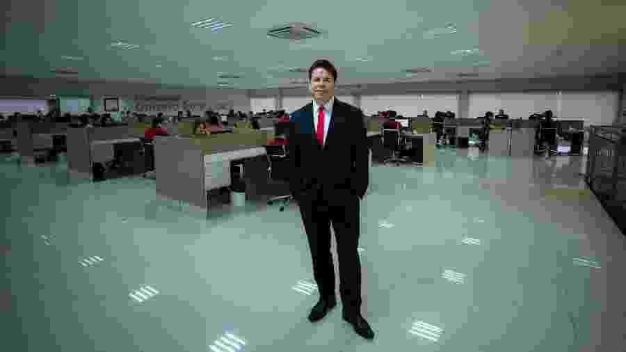 O empresário Oséias Gomes abriu a Odonto Excellence Franchising em 2009 - Divulgação