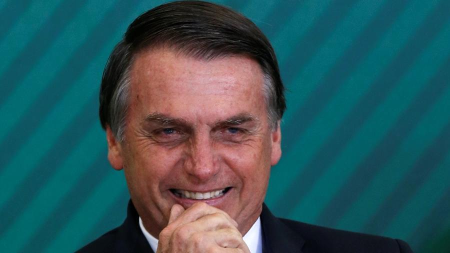 7.jan.2019 - O presidente Jair Bolsonaro (PSL) - Adriano Machado/Reuters