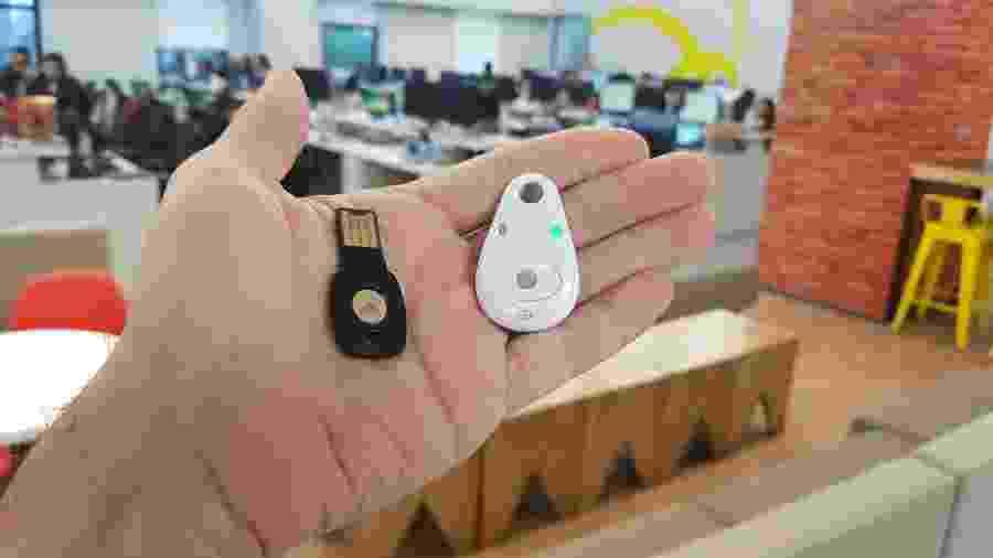 Chave de segurança do Google - Márcio Padrão/UOL