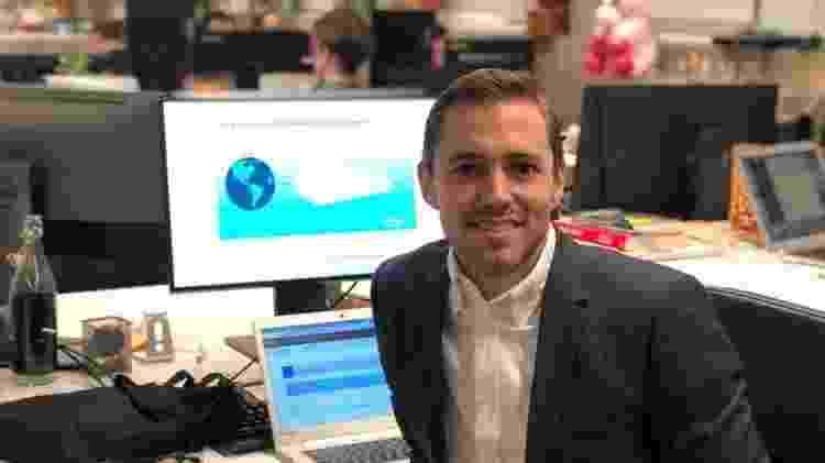 Max Friberg administra uma plataforma de software e optou por tirar uma licença da consultoria em que trabalhava - BBC - BBC