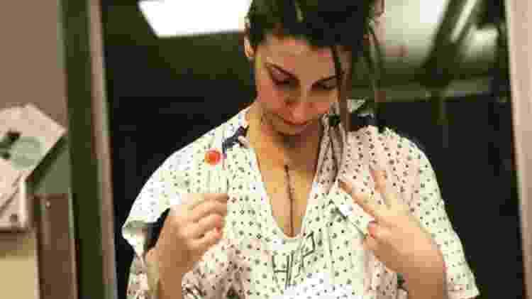 Alin Gragossian um mês após receber um transplante de coração - Alin Gragossian/BBC - Alin Gragossian/BBC