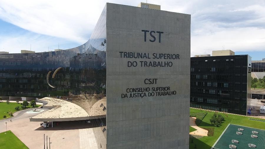 29.jun.2017 - Prédio do TST (Tribunal Superior do Trabalho), em Brasília - Divulgação/TST