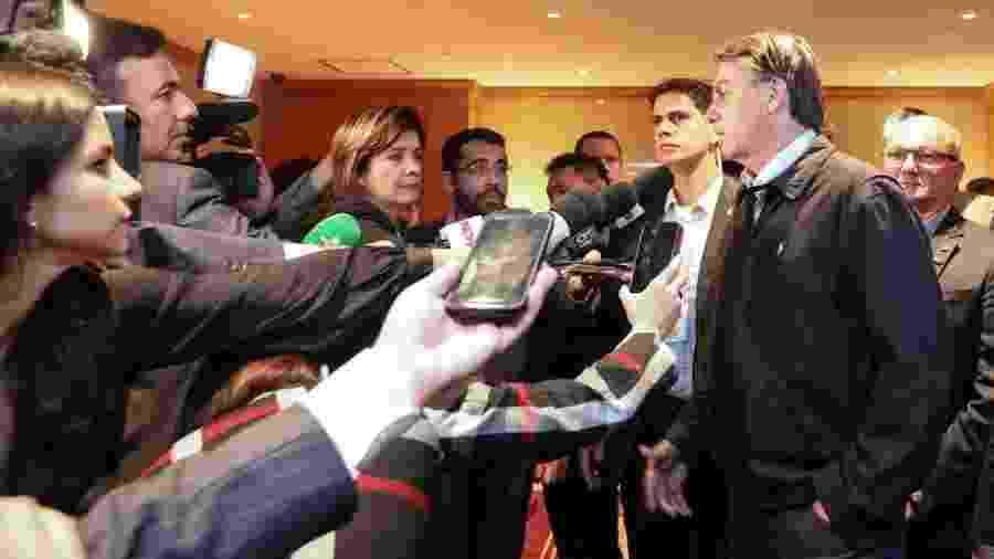 Bolsonaro em passagem pelo Japão durante viagem de duas semanas pela Ásia - Divulgação/ Planalto