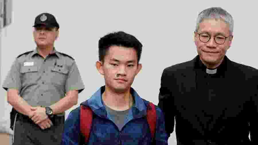 Chan Tong-kai, cidadão de Hong Kong acusado de matar a namorada em Taiwan no ano passado - Tyrone Siu/Reuters