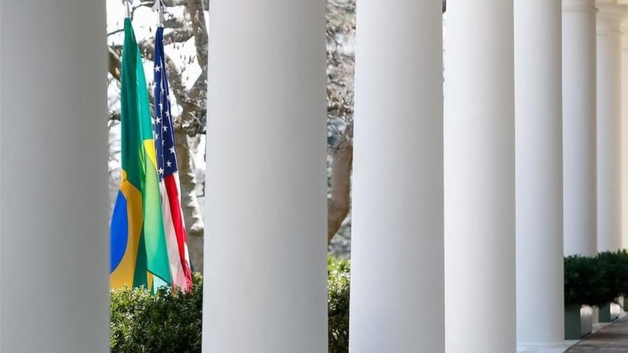 Embaixada dos EUA pede retorno de cidadãos americanos que estão no Brasil - Alan Santos/Presidência da República