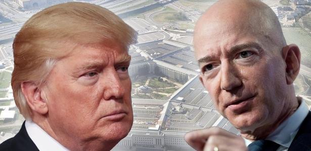 Rota de colisão | O que está por trás da briga bilionária entre Trump e Jeff Bezos