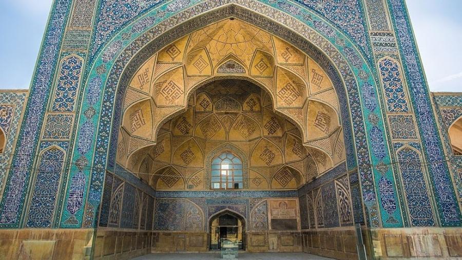 A Grande Mesquita de Isfahan foi listada como Patrimônio da Humanidade em 2012 - Getty Images